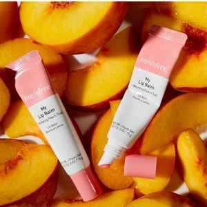 "INNISFREE Lip Balm in ""Wedding Peach Tea"""